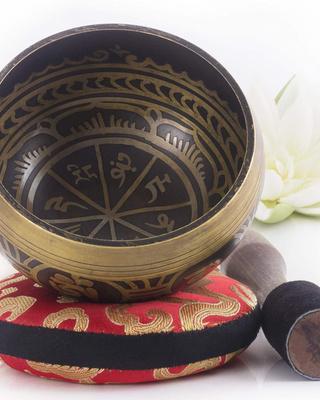 Cuenco tibetano Silent Mind #1