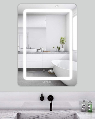 Espejo de baño con luz de LUDOVI